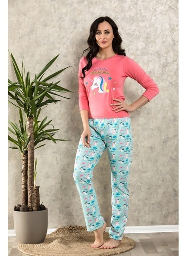 Lingabooms Pijama Takım Mercan